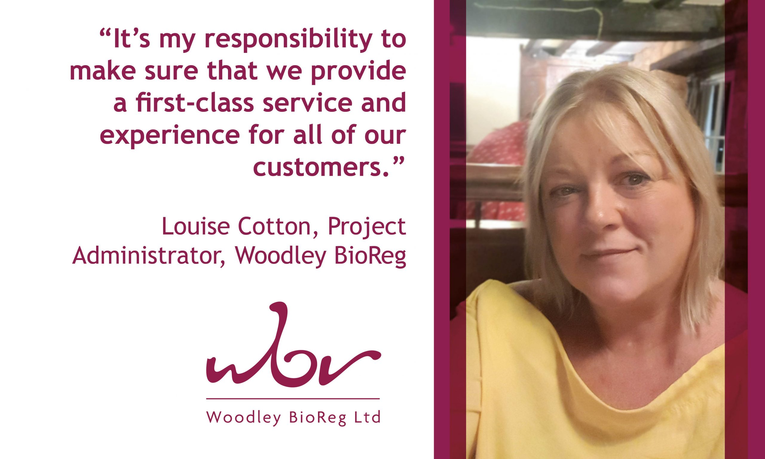 Louise Cotton tells why she likes to work at WBR