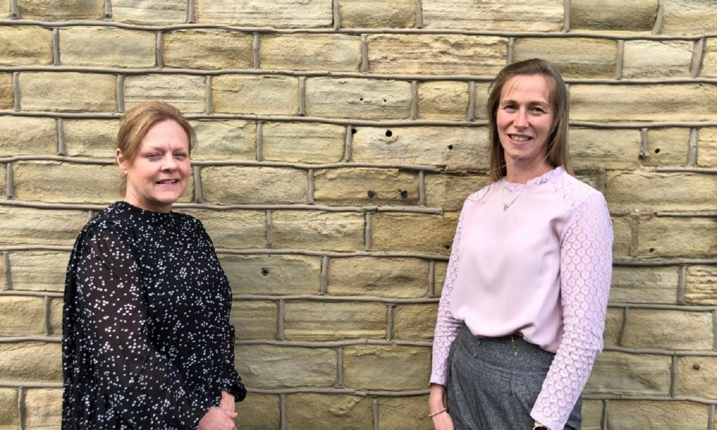 Left to right – Joanne Priestley, administration manager, and Michelle Hirst, CMC quality consultant, at Woodley BioReg.